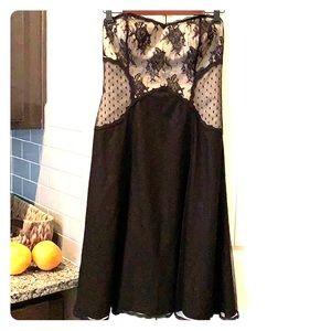 Black lace White House Black Market Dress